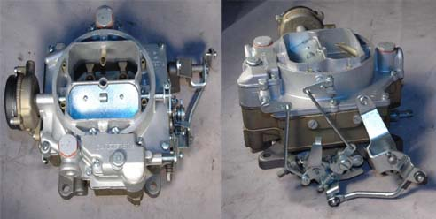Image for item A1502 - CARBURETOR - WCFB, 1st design, (w/bell crank included) - RESTORED