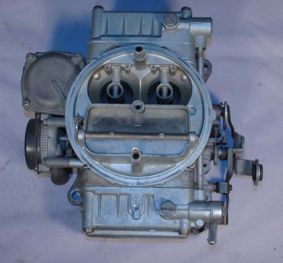 Image for item B1521 - CARBURETOR - Holley #2818, 350/365hp, dated RH side - CALL FOR DATES AVAILABLE BEFORE ORDERING