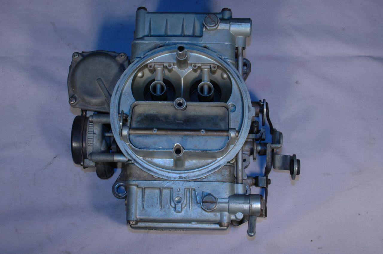 Image for item B1574 - CARBURETOR - Holley #2818, 350/365hp - CALL FOR DATES AVAILABLE BEFORE ORDERING / some dates may be higher priced