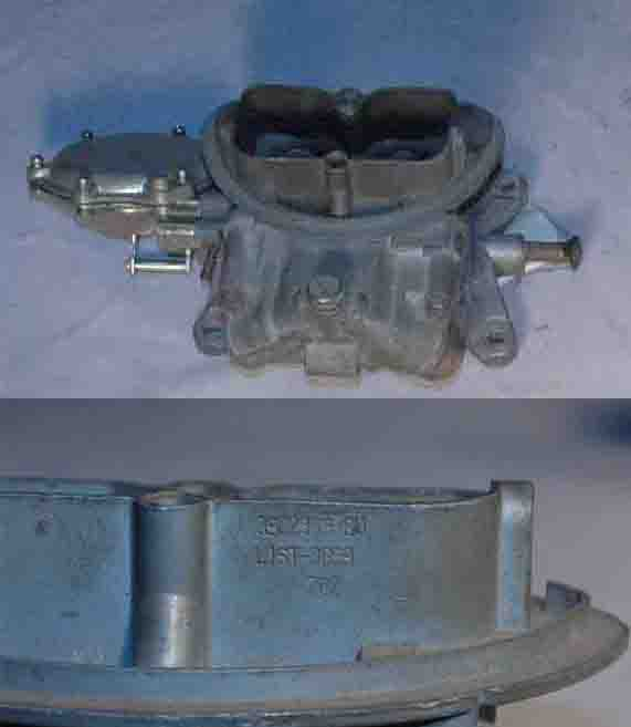 Image for item C1547 - CARBURETOR - #3659 3x2 end, CALL OR E MAIL ABOUT AVAILABLE DATES, (2 req.)(ea)